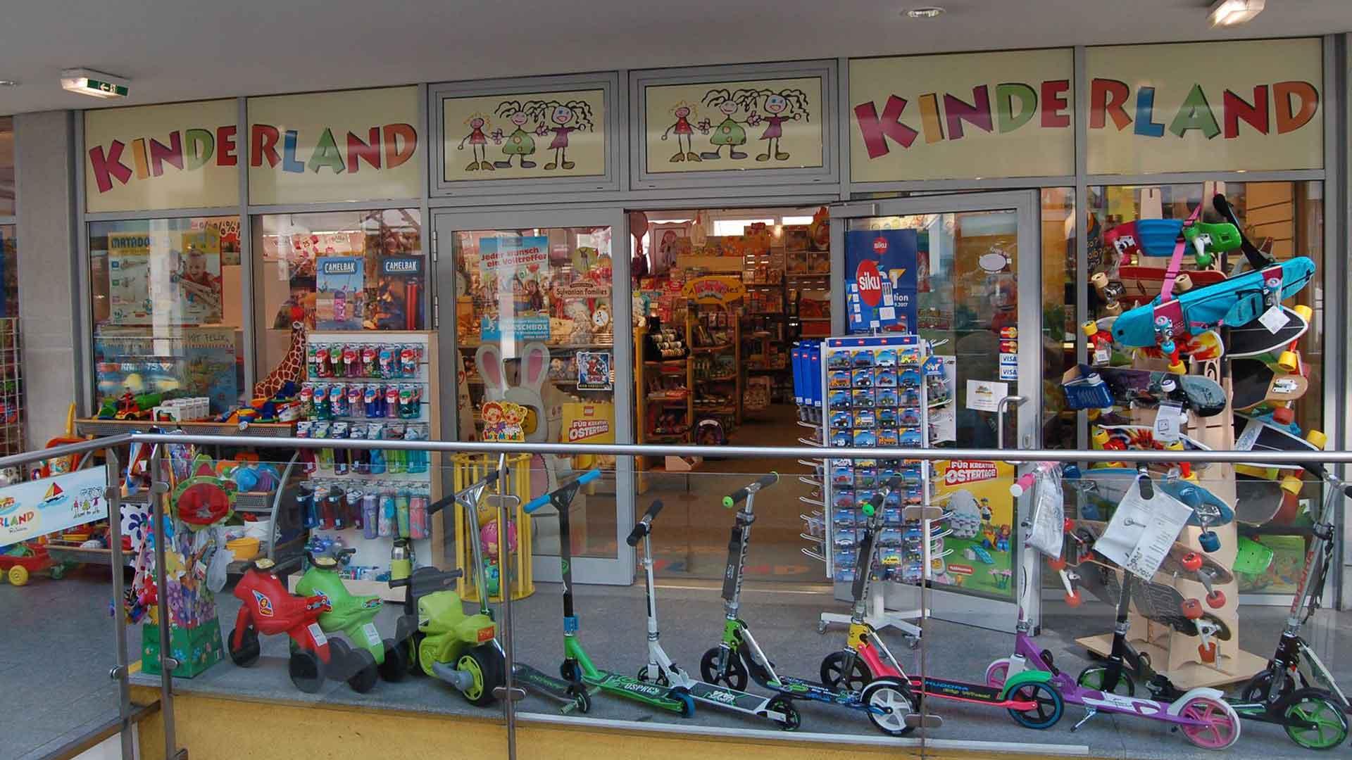 Kinderland Shop aussen