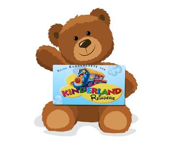 Teddy Bear mit Kundenkarte