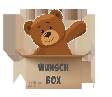Teddybear in der Wunschbox